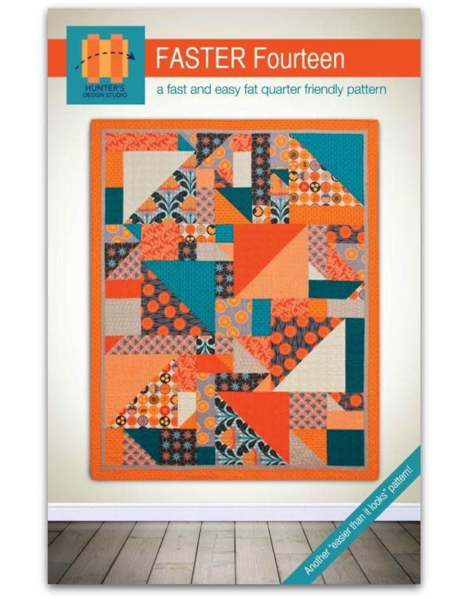 Hunter's Design Studio Faster Fourteen Quilt Pattern