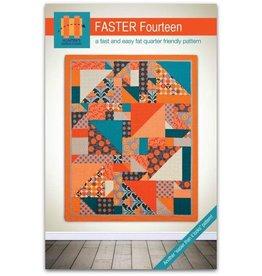 Hunter's Design Studio Hunter's Design Studio's Faster Fourteen Quilt Pattern