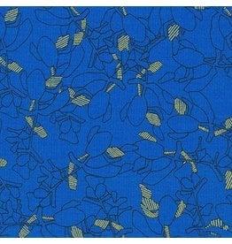 Carolyn Friedlander ON SALE-Collection CF, Succulent in Royal, Fabric FULL-Yards