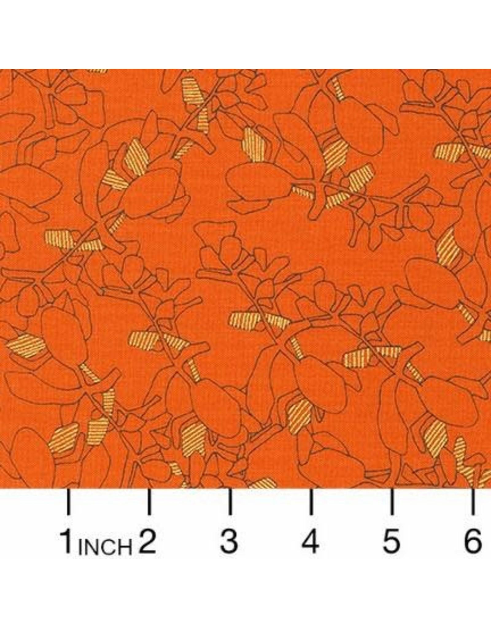PD's Carolyn Friedlander Collection Collection CF, Succulent in Orangeade, Dinner Napkin