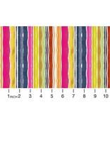 August Wren Viva Mexico!, Water Stripe in Multi, Fabric Half-Yards STELLA-DAW1505