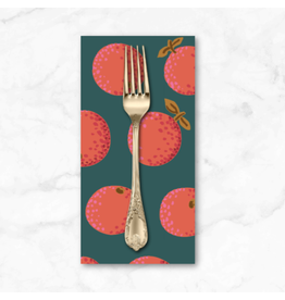 PD's Kaffe Fassett Collection Kaffe Collective 2020, Oranges in Red, Dinner Napkin