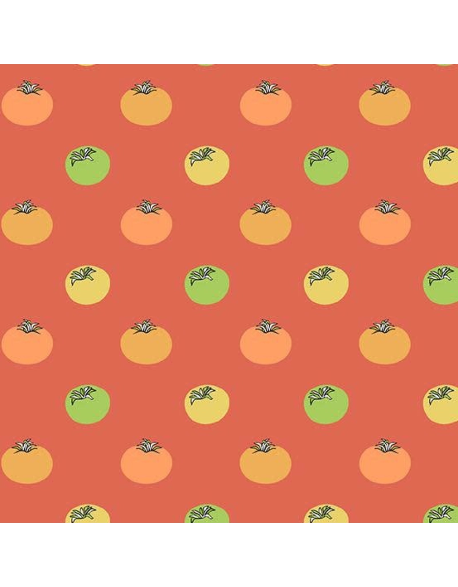 Andover Fabrics ON SALE-Farm to Fabric, Heirloom Tomatoes in Red, Fabric FULL-Yards