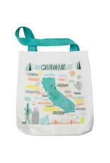 Picking Daisies Pacific Wanderings, California Tote Bag