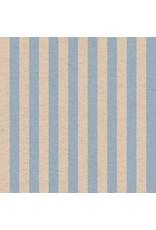 Rifle Paper Co. Linen/Cotton Canvas, Primavera, Cabana Stripe in Periwinkle, Fabric Half-Yards RP309-PE5C