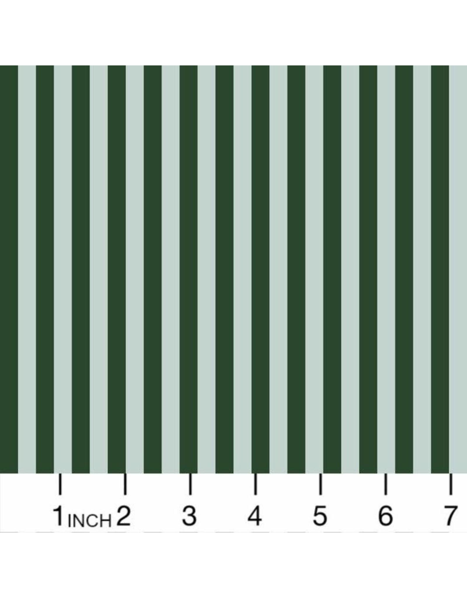 "Rifle Paper Co. Primavera, Cabana Stripe in Mint, Fabric Half-Yards RP309-MI1 (ONE 17"" CUT REMAINING)"