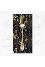 PD's Ruby Star Society Collection Ruby Star Society, Tiger Fly, Queen Tigress in Ash with Metallic, Dinner Napkin