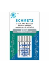 Schmetz Schmetz 4019 Chrome Professional Grade Quilting Needles - 5 count, size 90/14