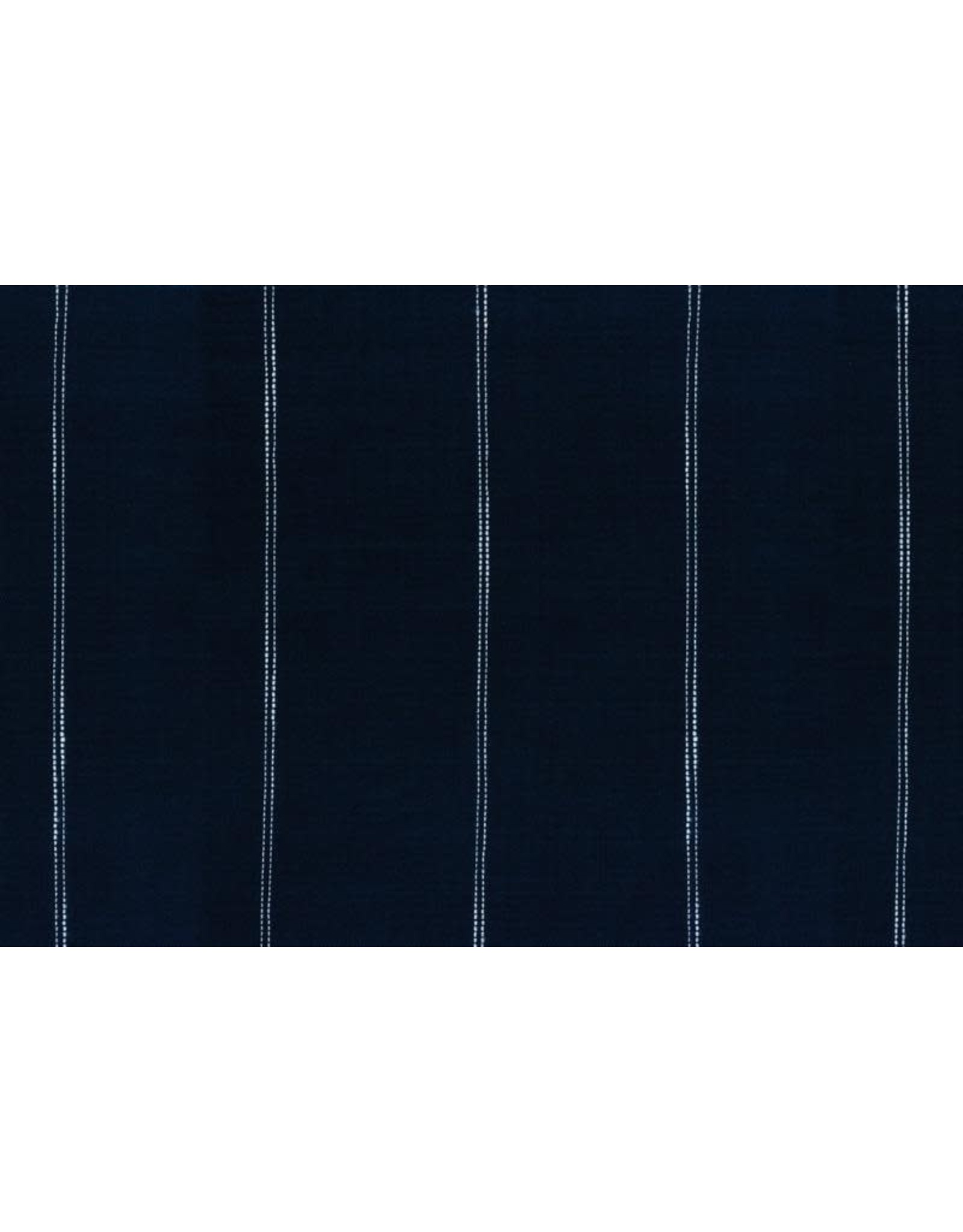 """Moda Woven Toweling, 16"""", Picnic Point Tea in Navy, Sold by the Yard"""