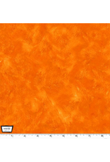 Michael Miller Eat, Sleep, Garden, Hand Sprayed in Orange, Fabric Half-Yards CX9062