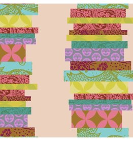 Anna Maria Horner Hindsight, The Classics in Guava, Fabric Half-Yards PWAH148