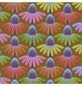 Anna Maria Horner Hindsight, Echinacea Glow in Autumn, Fabric Half-Yards PWAH149