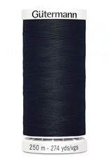 Gutermann Gutermann Thread, 250M-010 Black, Sew-All Polyester All Purpose Thread, 250m/273yds