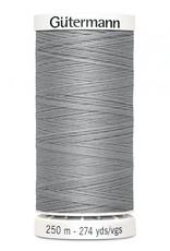 Gutermann Gutermann Thread, 250M-102 Light Grey, Sew-All Polyester All Purpose Thread, 250m/273yds