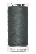 Gutermann Gutermann Thread, 250M-115 Dark Grey, Sew-All Polyester All Purpose Thread, 250m/273yds