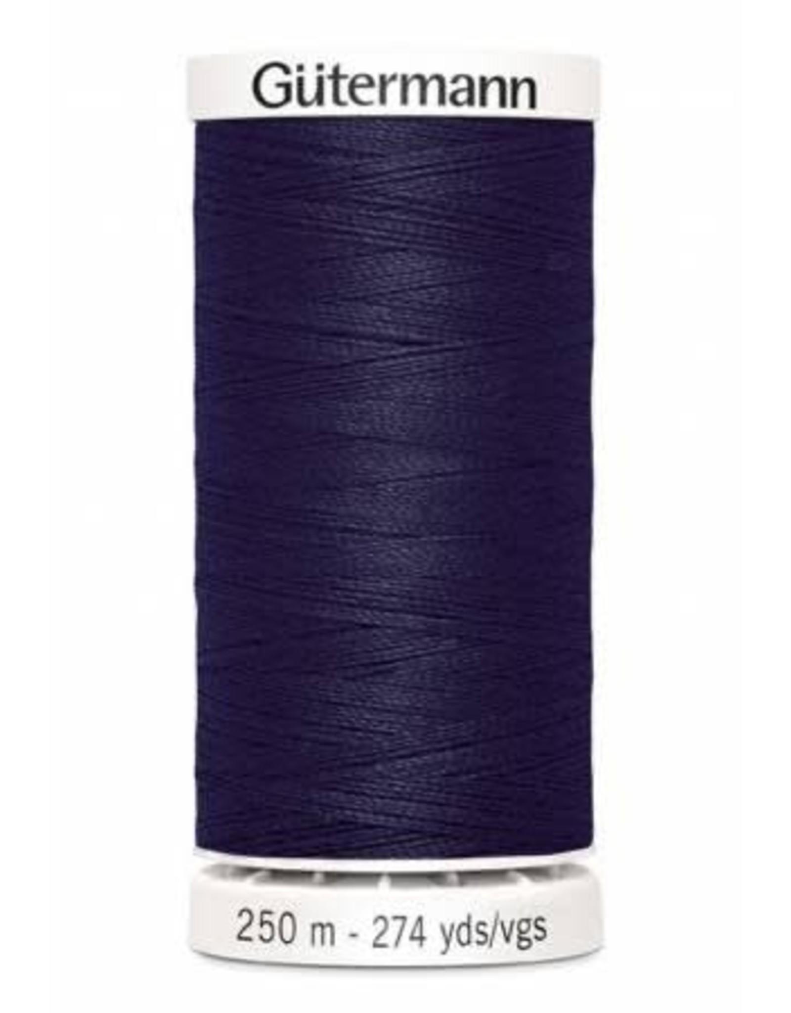 Gutermann Gutermann Thread, 250M-278 Midnight Navy Blue, Sew-All Polyester All Purpose Thread, 250m/273yds