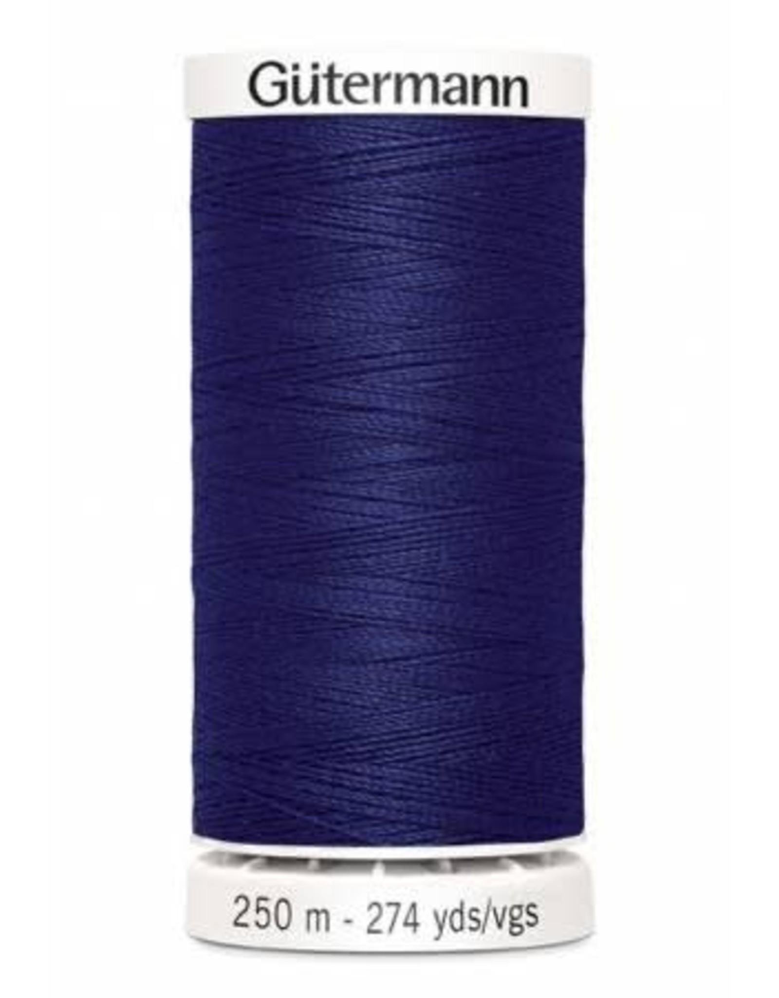 Gutermann Gutermann Thread, 250M-266 Bright Navy Blue, Sew-All Polyester All Purpose Thread, 250m/273yds