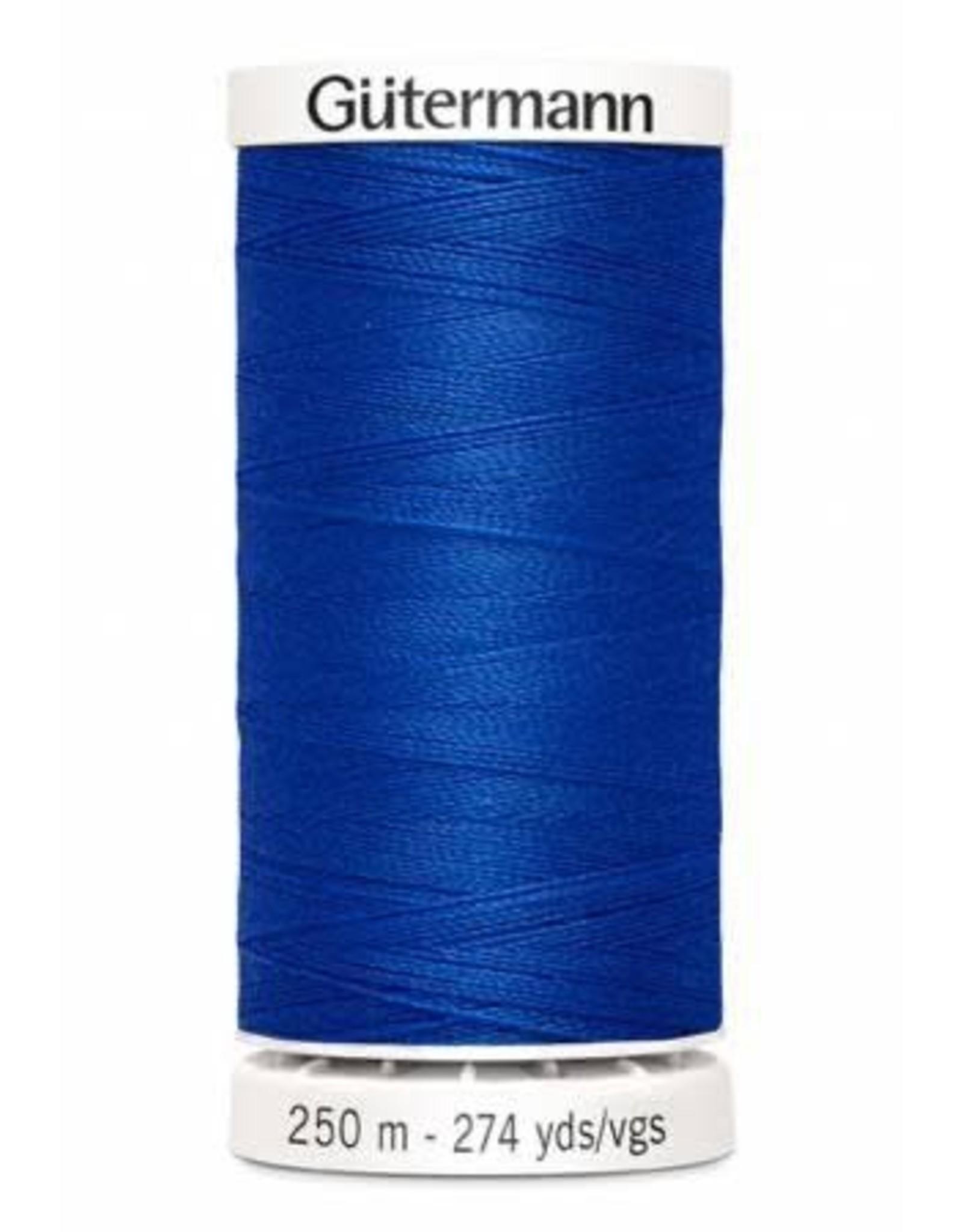 Gutermann Gutermann Thread, 250M-251 Cobalt Blue, Sew-All Polyester All Purpose Thread, 250m/273yds