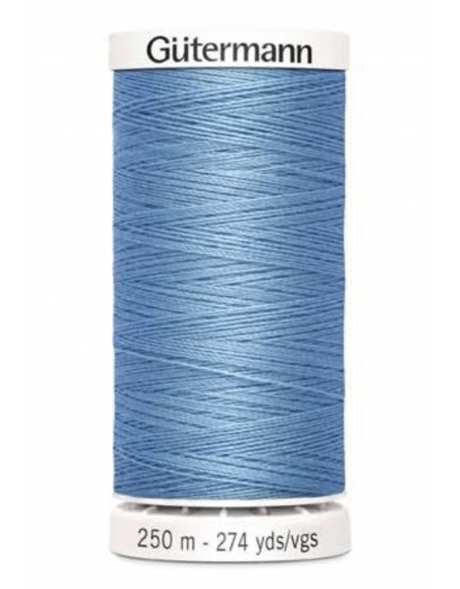 Gutermann Gutermann Thread, 250M-227 Copenhagen Blue, Sew-All Polyester All Purpose Thread, 250m/273yds
