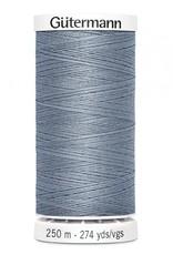 Gutermann Gutermann Thread, 250M-224  Tile Blue, Sew-All Polyester All Purpose Thread, 250m/273yds