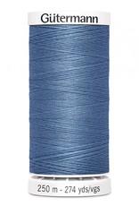 Gutermann Gutermann Thread, 250M-215 French Blue, Sew-All Polyester All Purpose Thread, 250m/273yds