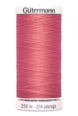 Gutermann Gutermann Thread, 250M-330 Coral Pink, Sew-All Polyester All Purpose Thread, 250m/273yds