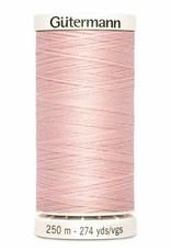 Gutermann Gutermann Thread, 250M-305 Petal Pink, Sew-All Polyester All Purpose Thread, 250m/273yds