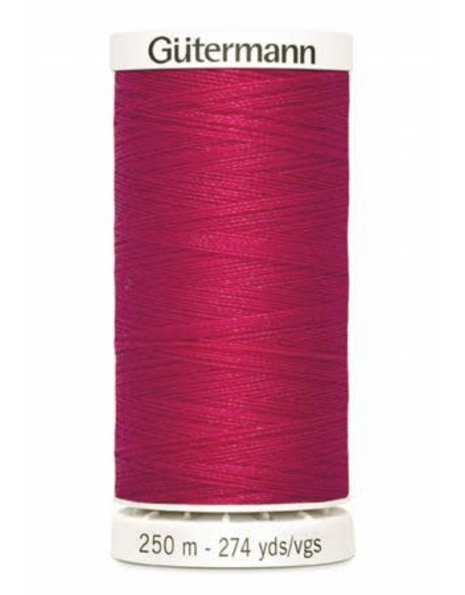 Gutermann Gutermann Thread, 250M-345 Raspberry Pink, Sew-All Polyester All Purpose Thread, 250m/273yds
