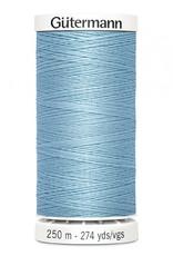 Gutermann Gutermann Thread, 250M-209 Powder Blue, Sew-All Polyester All Purpose Thread, 250m/273yds