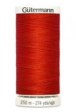 Gutermann Gutermann Thread, 250M-405 Flame Red, Sew-All Polyester All Purpose Thread, 250m/273yds