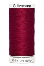 Gutermann Gutermann Thread, 250M-430 Ruby Red, Sew-All Polyester All Purpose Thread, 250m/273yds