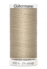 Gutermann Gutermann Thread, 250M-506 Khaki, Sew-All Polyester All Purpose Thread, 250m/273yds