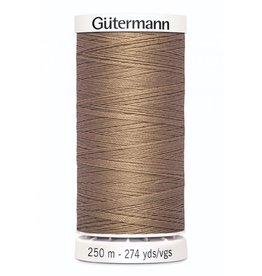 Gutermann Gutermann Thread, 250M-536 Tan, Sew-All Polyester All Purpose Thread, 250m/273yds