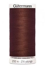 Gutermann Gutermann Thread, 250M-578 Chocolate, Sew-All Polyester All Purpose Thread, 250m/273yds