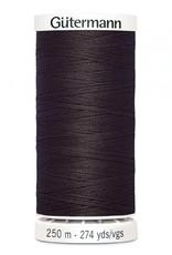 Gutermann Gutermann Thread, 250M-593 Seal Brown, Sew-All Polyester All Purpose Thread, 250m/273yds