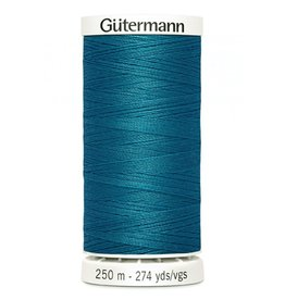 Gutermann Gutermann Thread, 250M-625 Ming Blue, Sew-All Polyester All Purpose Thread, 250m/273yds