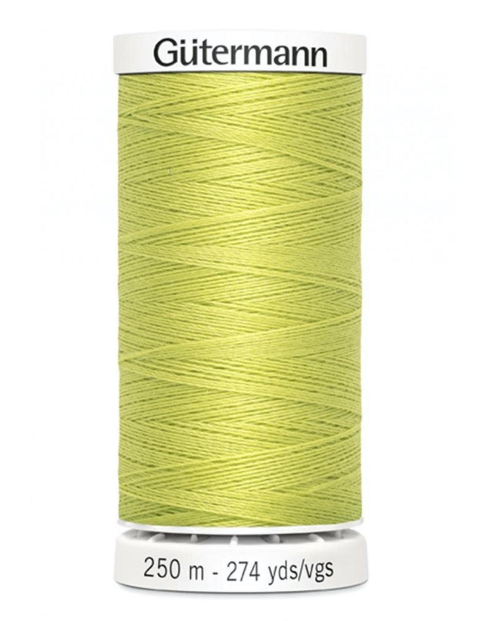 Gutermann Gutermann Thread, 250M-712 Lime Citron, Sew-All Polyester All Purpose Thread, 250m/273yds