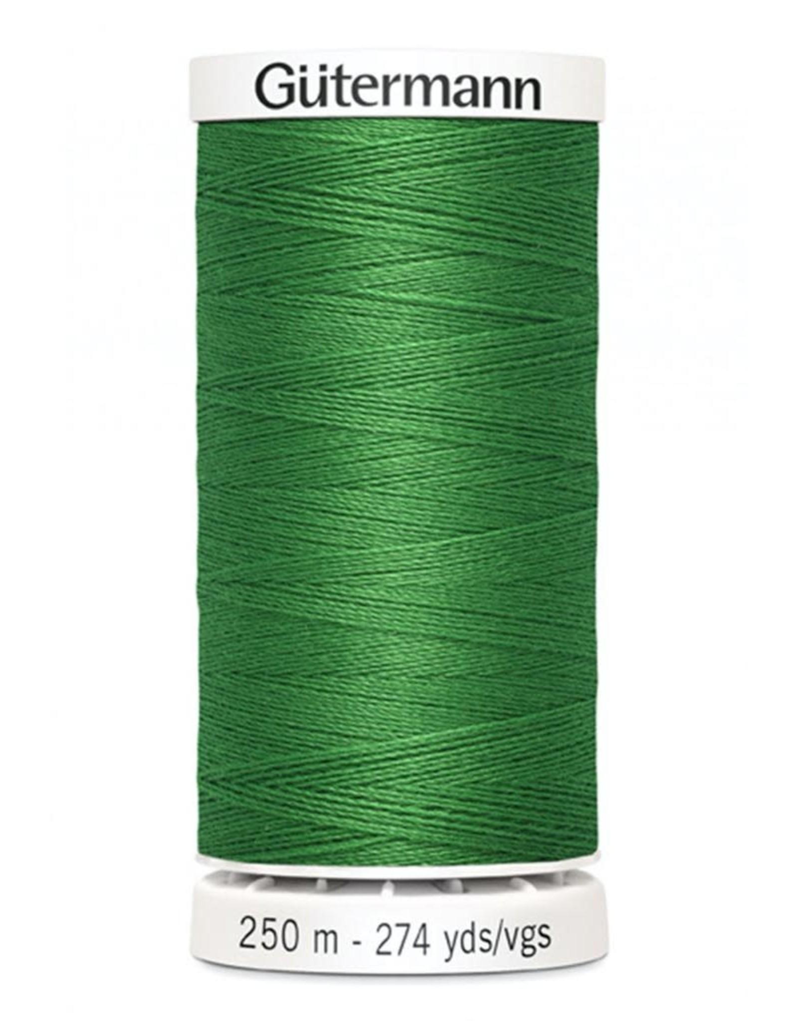 Gutermann Gutermann Thread, 250M-760 Kelly Green, Sew-All Polyester All Purpose Thread, 250m/273yds