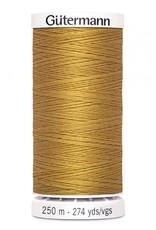 Gutermann Gutermann Thread, 250M-865 Gold, Sew-All Polyester All Purpose Thread, 250m/273yds