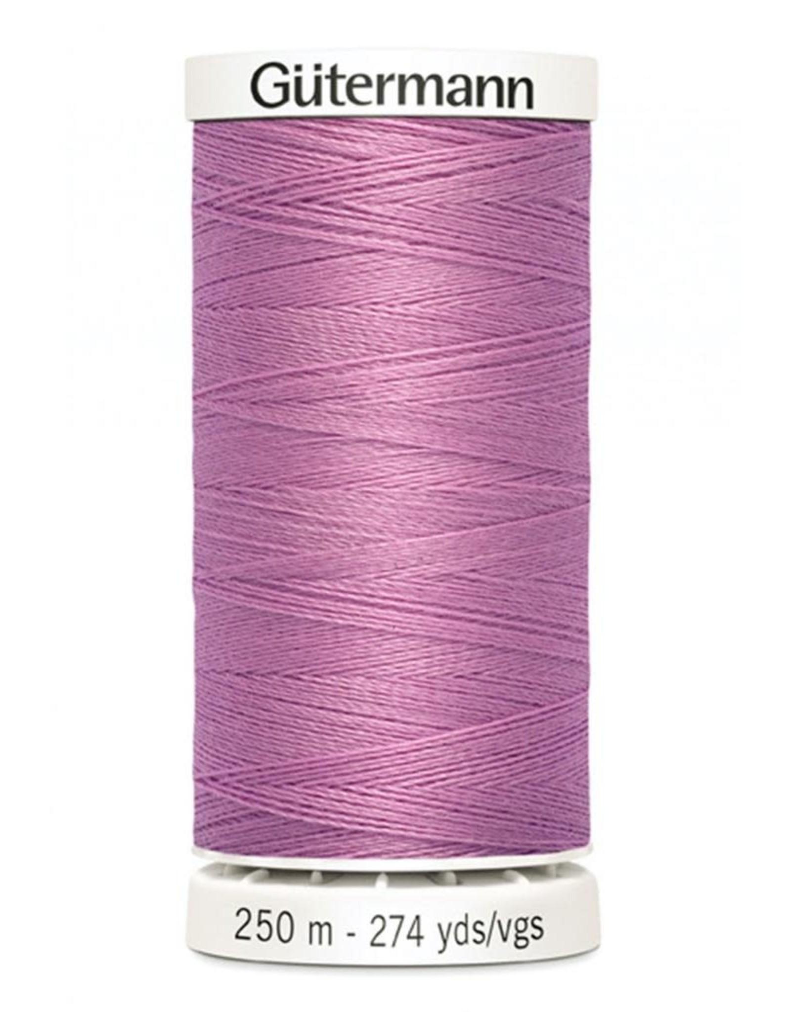 Gutermann Gutermann Thread, 250M-913 Rose Lilac, Sew-All Polyester All Purpose Thread, 250m/273yds