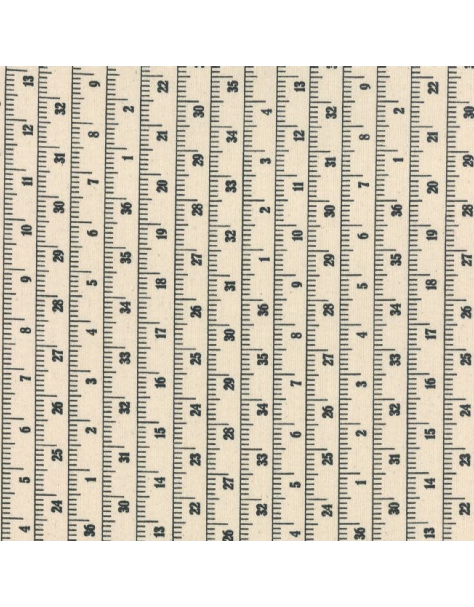 "Moda Cotton Canvas, Measure Up, 54"" wide, Fabric Half-Yards 54924 11"