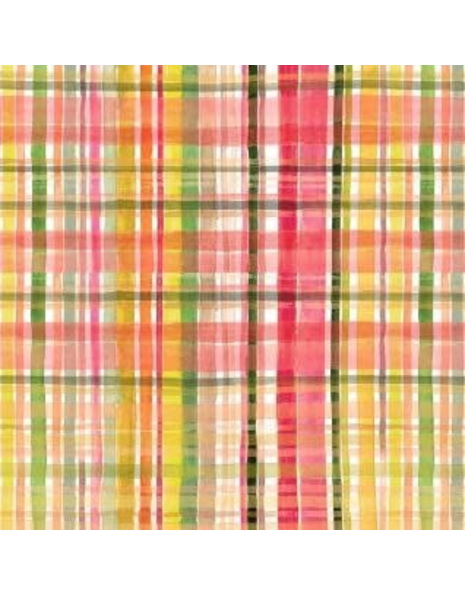 August Wren Falling for You, Fall Plaid in Multi, Fabric Half-Yards STELLA-DAW1577