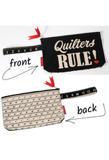 Moda Measure Up, Quilter's Rule Zipper Pouch