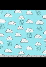 PD's Robert Kaufman Collection Neighborhood Pals, Clouds in Cloud, Dinner Napkin