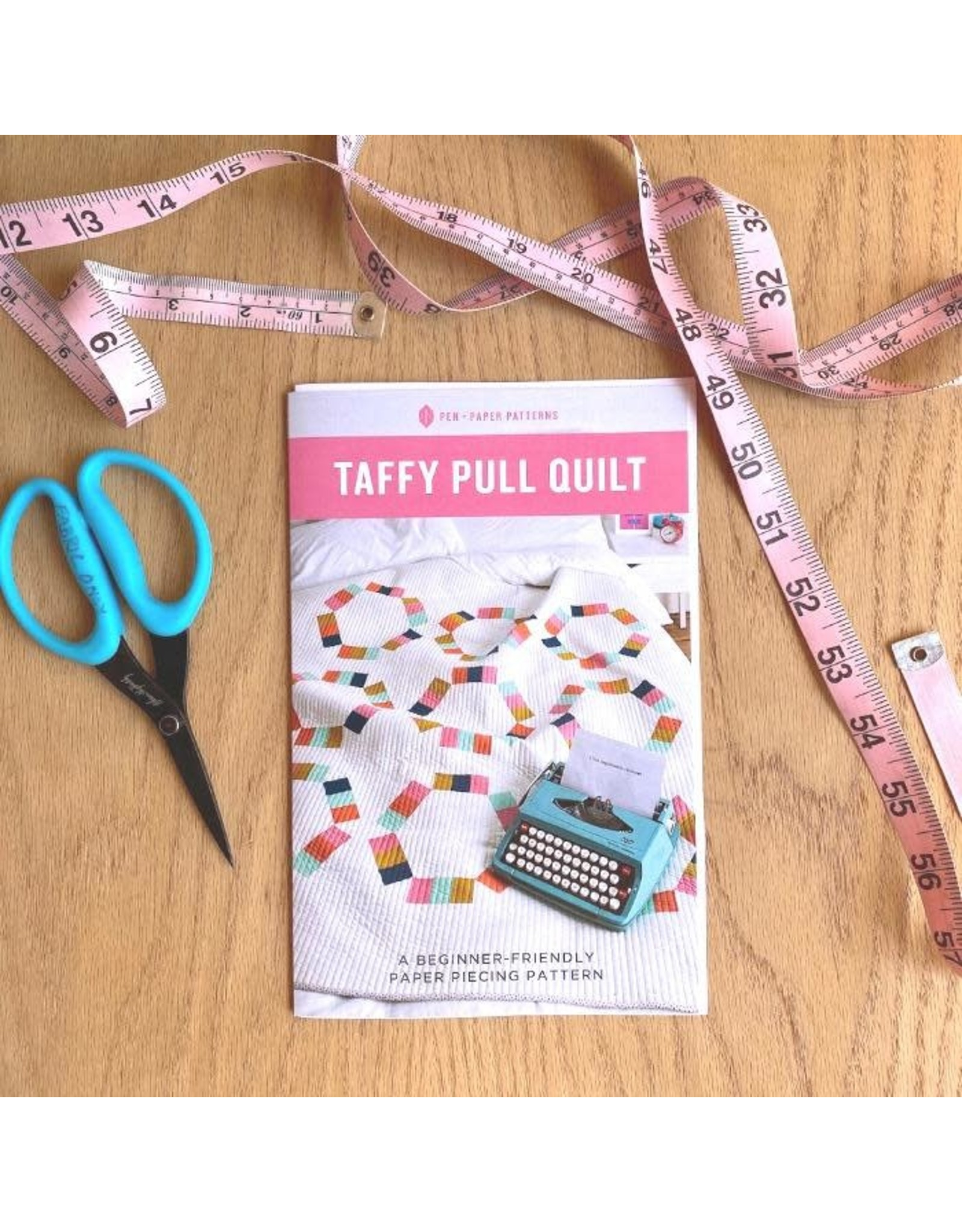 Pen and Paper Patterns Taffy Pull Quilt Pattern