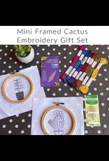 Picking Daisies Cactus No.2, Mini Embroidery Kit