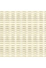 Cotton + Steel ON SALE-Dusk till Dawn, Moonchild in Grass on Unbleached Cotton, Fabric Half-Yards