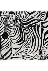 Alexander Henry Fabrics Africa, Zendaya in Black, Fabric Half-Yards 8798B