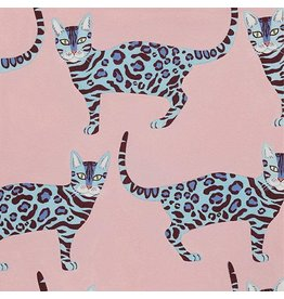 Alexander Henry Fabrics Africa, Little Kenya in Pink, Fabric Half-Yards 8803C