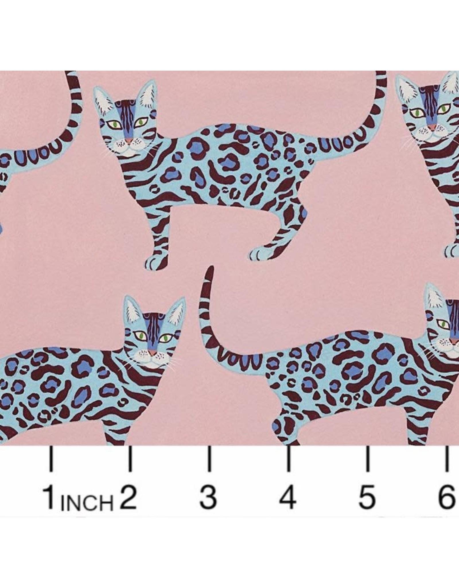 Alexander Henry Fabrics Africa, Little Kenya in Pink, Fabric Half-Yards 8803C